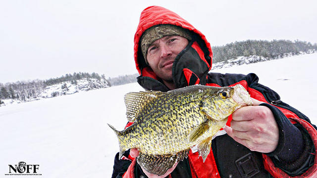 Ice Fishing for Crappie