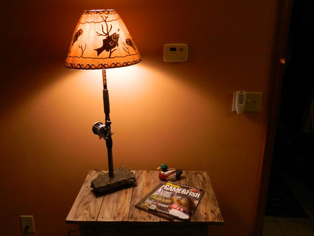 Awesome Thread: Unique Fishing Pole Lamps