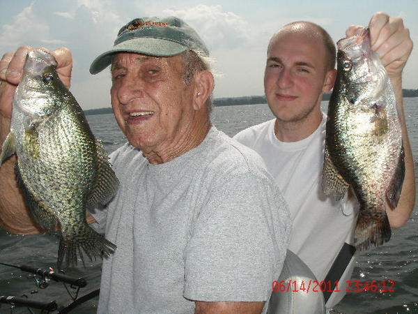 Summertime Crappie Fishing Special on Reelfoot Lake