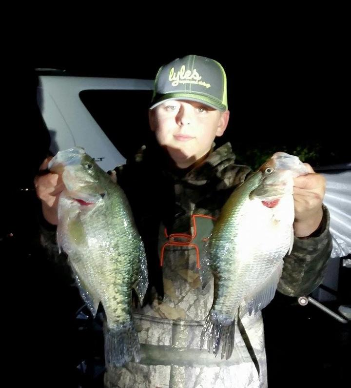 The double minnow rig for Crappie fishing with minnows