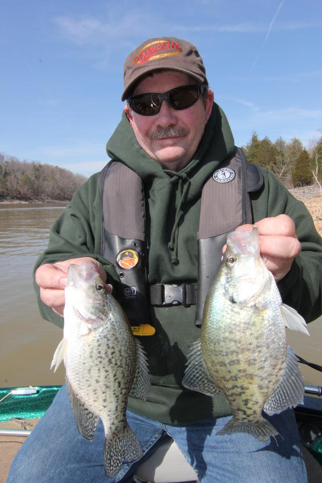 state of arkansas crappie fishing
