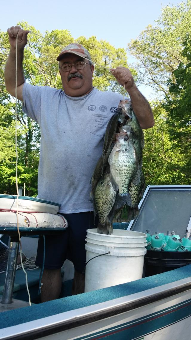 Hunterchub for Crappie fishing in tennessee