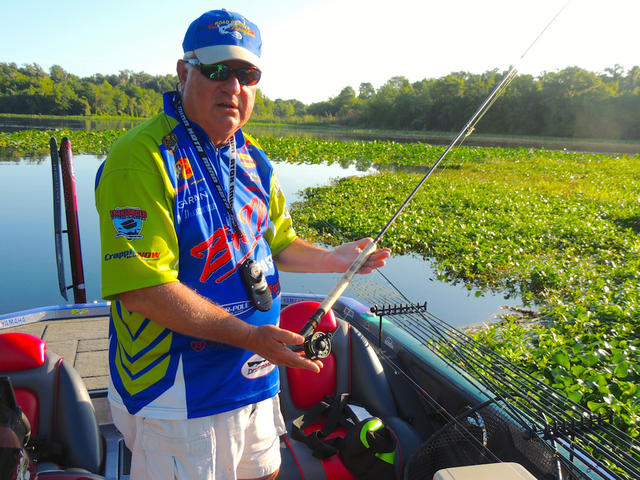 Crappies without minnows by ron presley for Crappie fishing with minnows