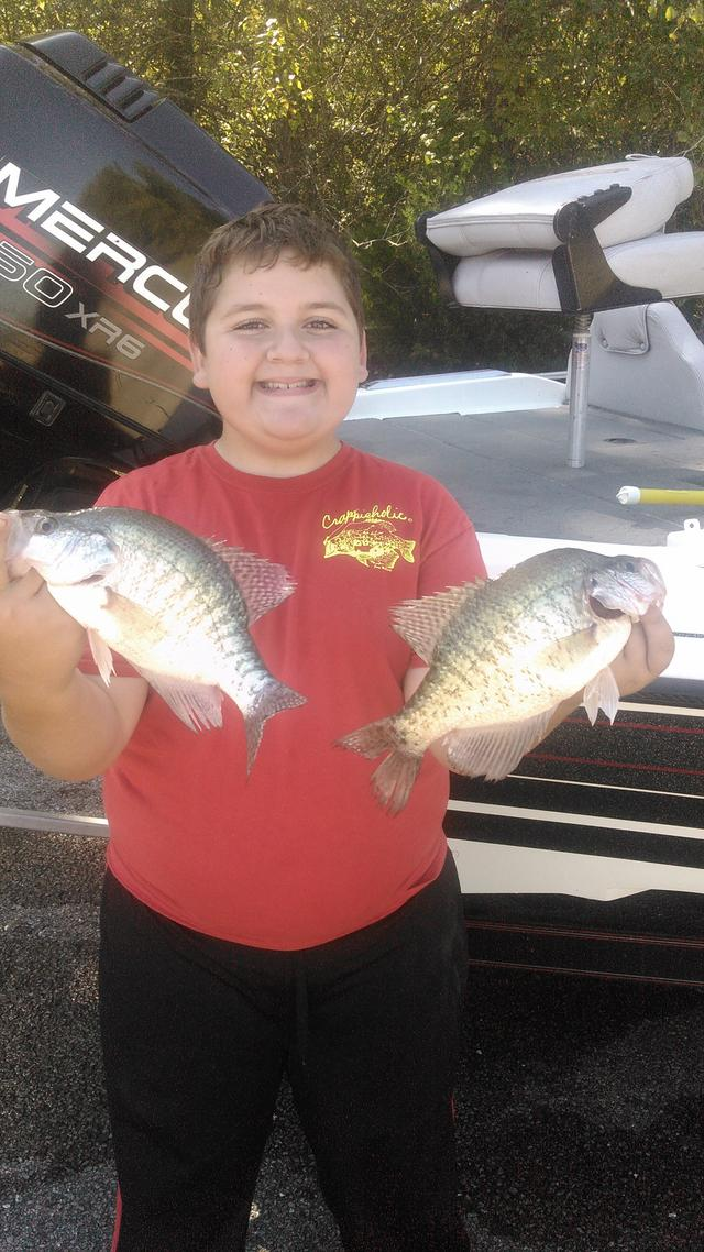 Family report from the grand for Truman lake fishing report