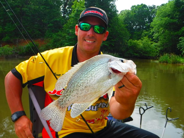 Alabama river crappie masters scott williams for Crappie fishing in alabama