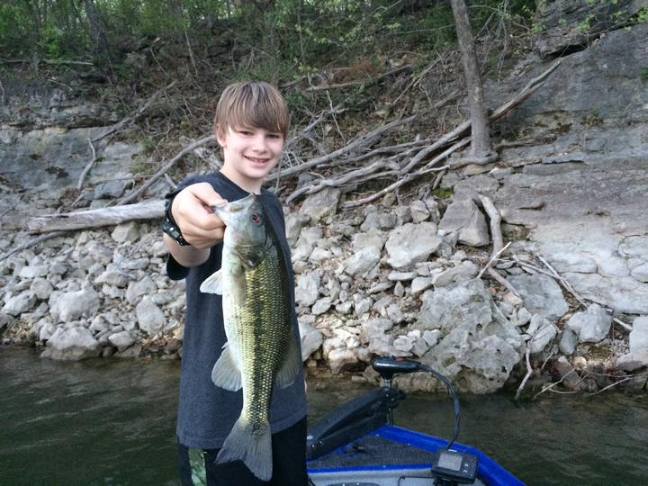 Stockton 4 15 table rock 4 19 report for Table rock lake crappie fishing