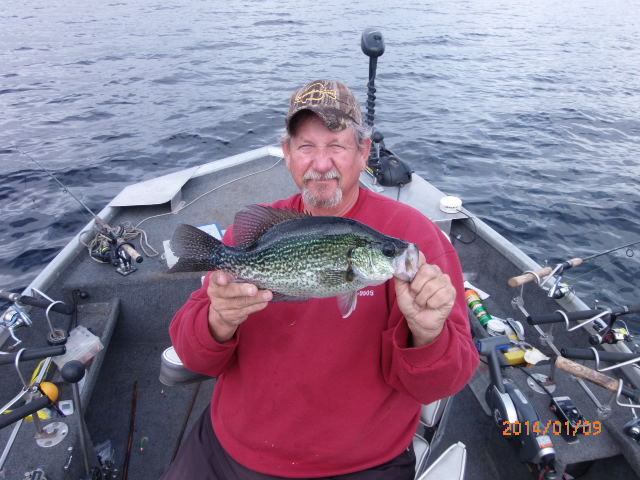 2015 calendar contest finalists for Crappie fishing florida