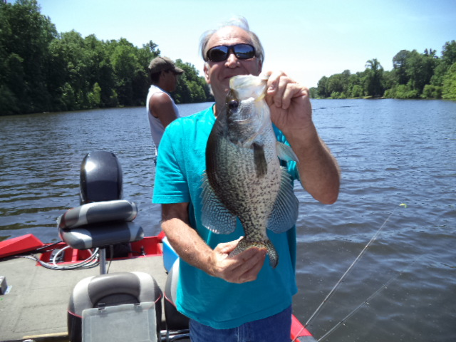 Great day on the water for Crappie fishing florida