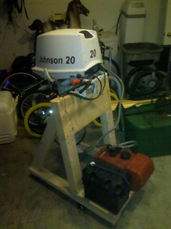 Homemade Outboard Stand 47 76
