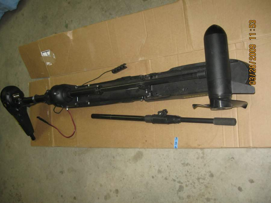 Maxuum hand control trolling motor for sale for Trolling motor on sale