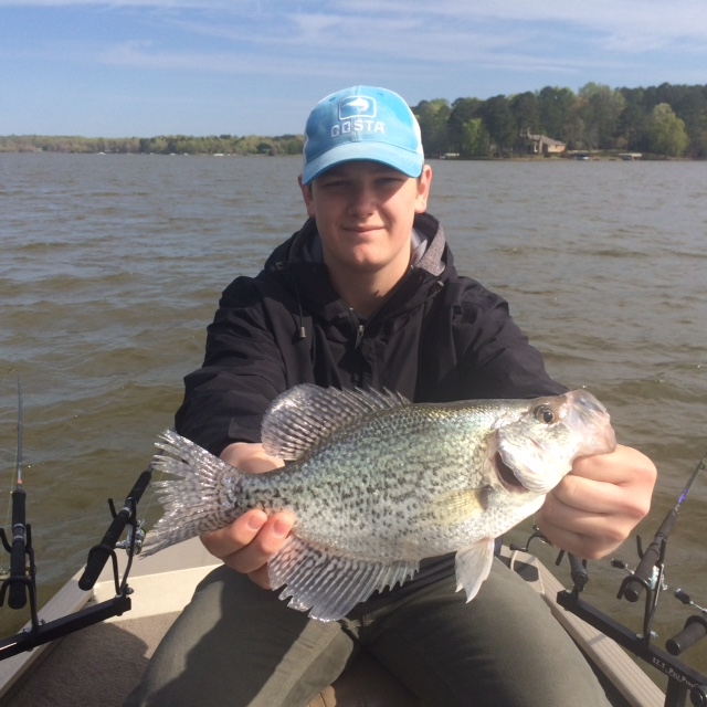 More proof for Crappie fishing in ga