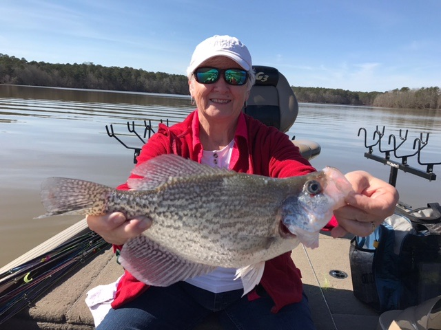 Day before valentine 39 s day fishing for Crappie fishing in ga