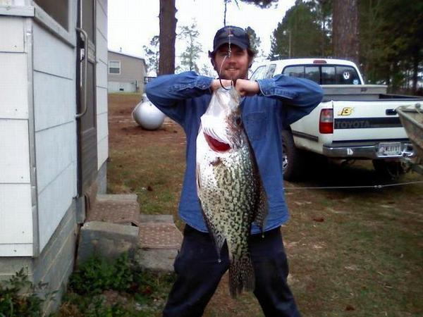 Record crappie for Best crappie fishing times