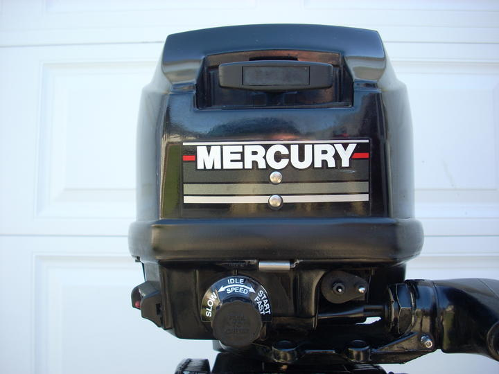 1988 Mercury 15 H P Short Shaft Outboard Motor For Sale