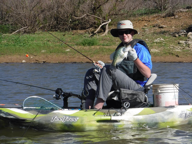 Name:  Layne in kayak.jpg