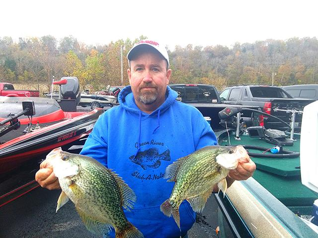 Lake cumberland report for Kentucky lake crappie fishing report