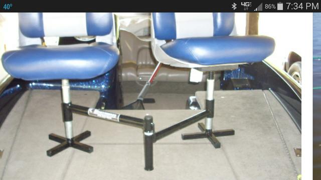 Spider Rigging Double Seat ~ Double seat pedestals