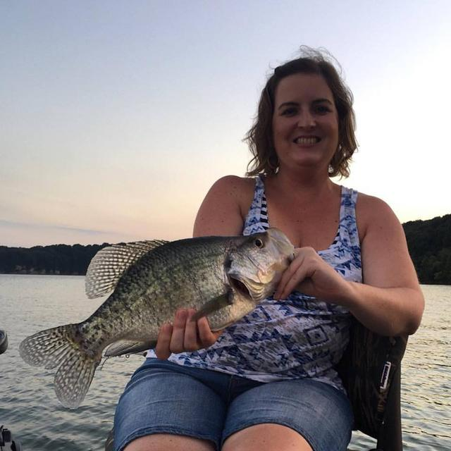 2lb green river lake crappie for Crappie fishing in ky