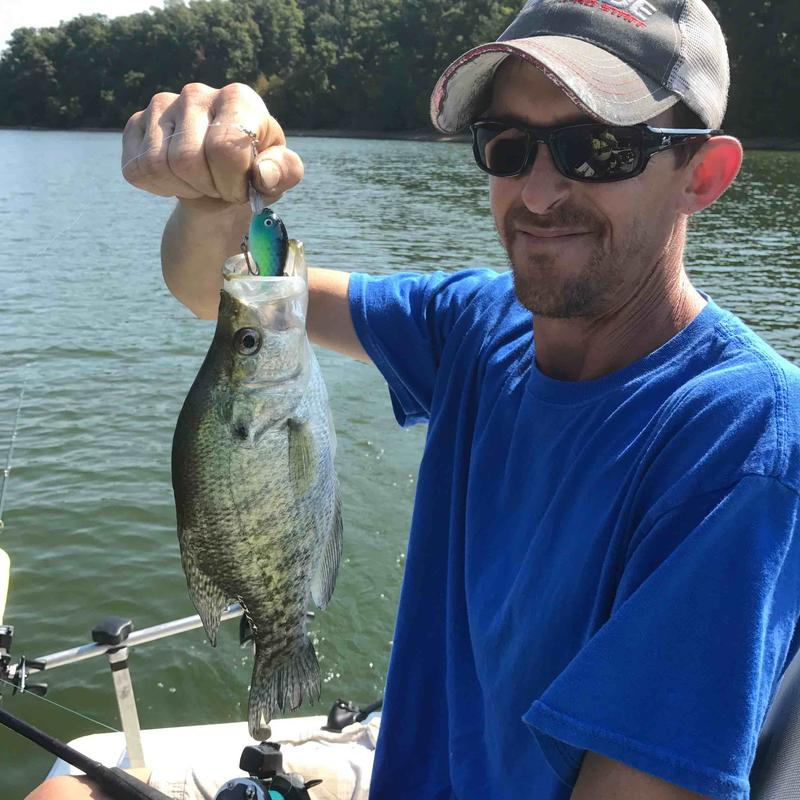 Ky lake 9 24 1st crank trip for Crappie fishing in ky
