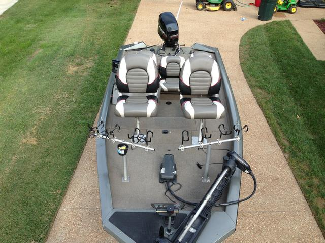 Spider rigging question concerning boat stability for Spider rigs for crappie fishing