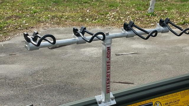 Spider rig holder for war eagle for Spider rigs for crappie fishing