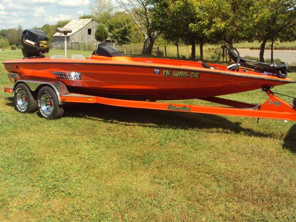 Found My New Boat - Bullet bass boat decals