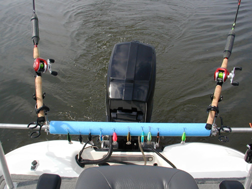 I need rod holders in the back of the boat for Boat fishing rod holders
