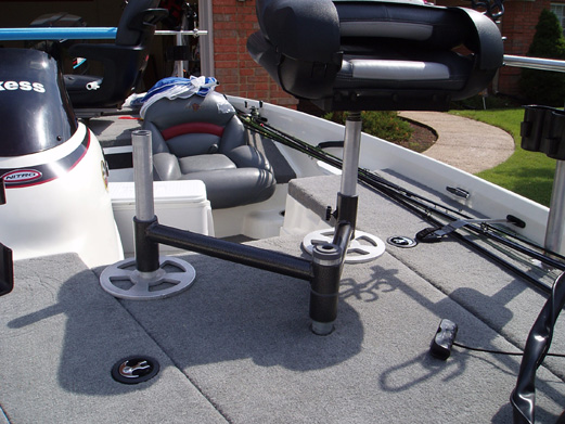 Spider Rigging Double Seat ~ Seat pedestal bases