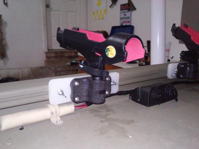Diy Rod Holders For Gunnel Track Systems