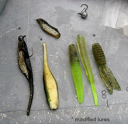 Tested More Soft Plastic Lure Ideas And Most Did Great