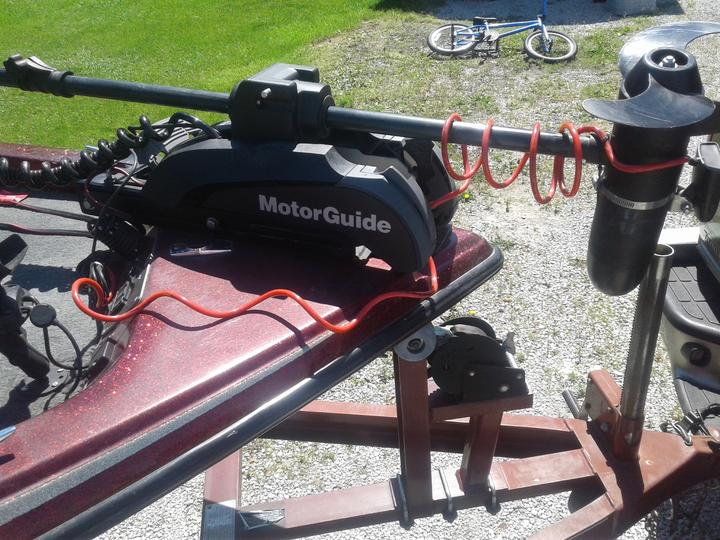 Motorguide Xi5 Di Transducer Mount Amp Cable Routing