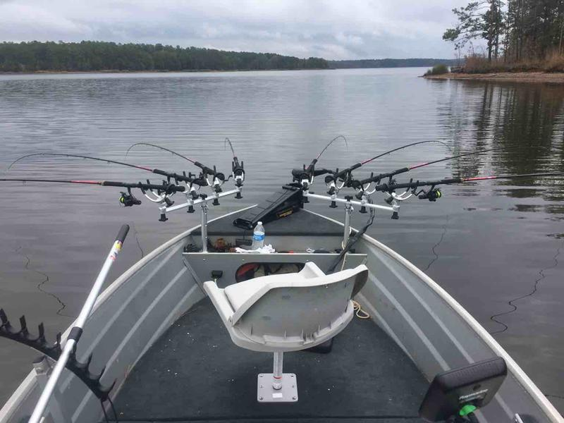 Deep v for spider rigging for Spider rigs for crappie fishing