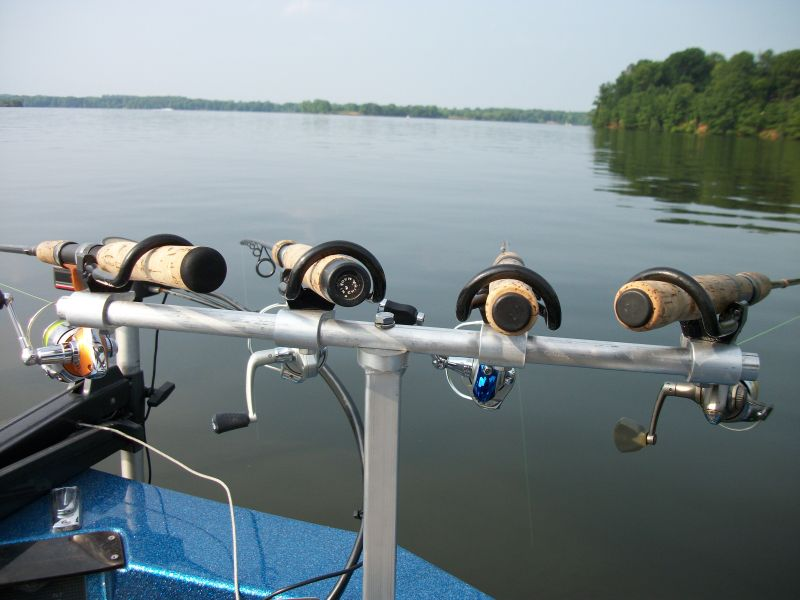 Homemade pvc trolling rod holder homemade ftempo for Homemade fishing rod holders
