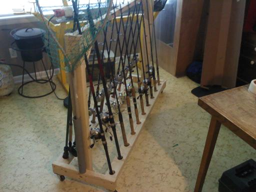 Your most innovative rod storage ideas for Fishing rod storage ideas