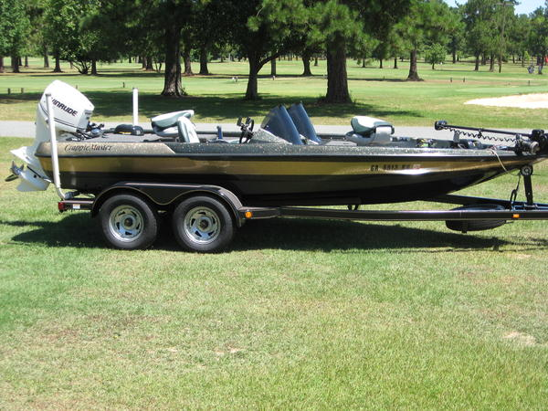 Crappie master boats for Crappie fishing boats