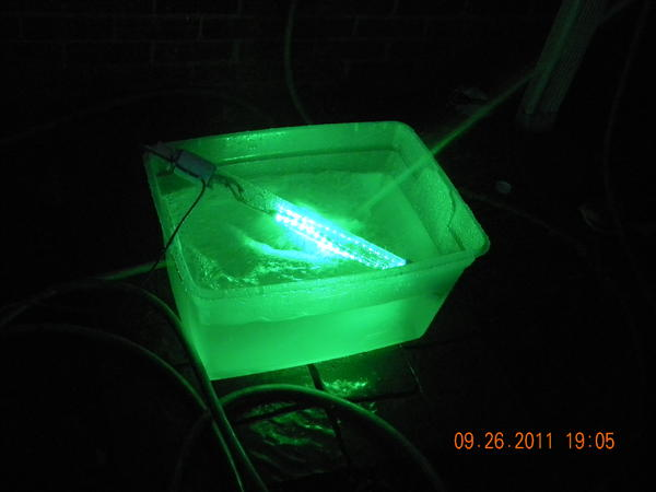 anyone ever made submergable fishing lights before?, Reel Combo