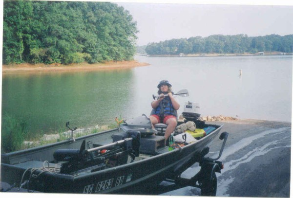 Lets see those jon boat pics for Crappie fishing boats