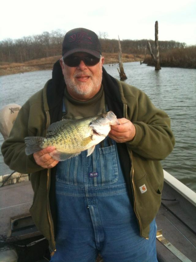 Look out crappie for Crappie fishing in missouri