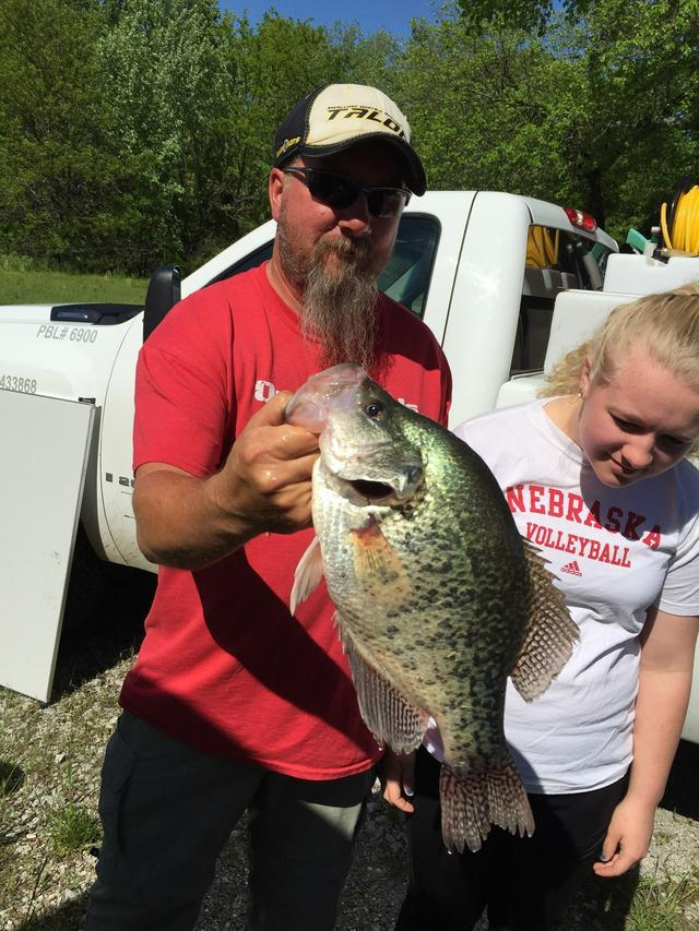 Truman toad giant monster report for Crappie fishing in missouri