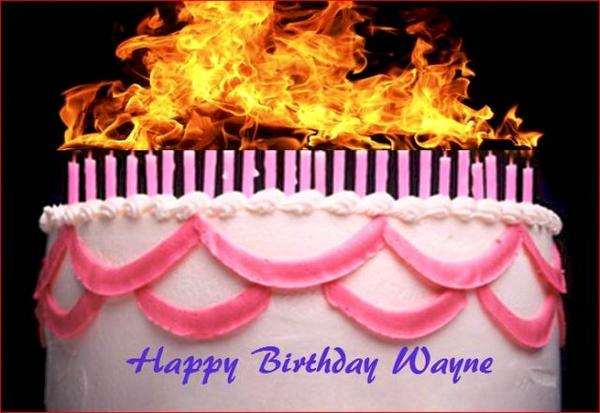Images Of Birthday Cakes With Names And Candles