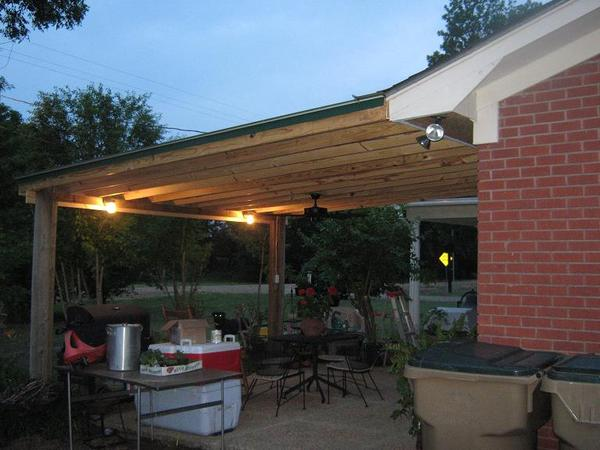 The Patio Cover is back
