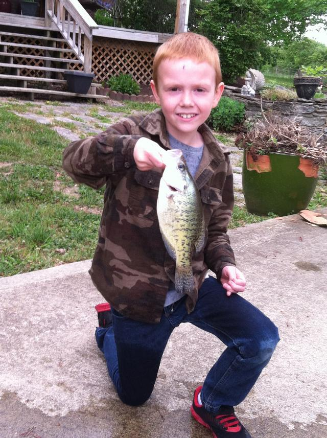 6 6 15 east fork report for Crappie fishing ohio