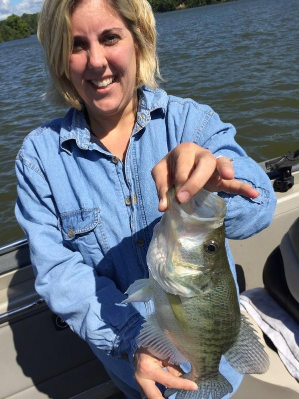 Cowan lake report for Crappie fishing ohio
