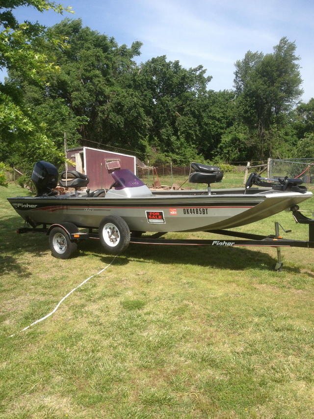 2009 Fisher 1710 Crappie Boat For Sale