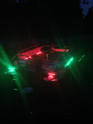 Anybody using leds on their boat i have a bunch if for Boat lights for night fishing