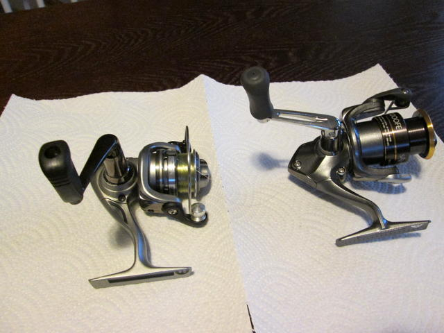 Spinning reels for Crappie fishing reels