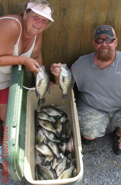 Crappie Fishing: Reelfoot Lake Crappie Fishing Report