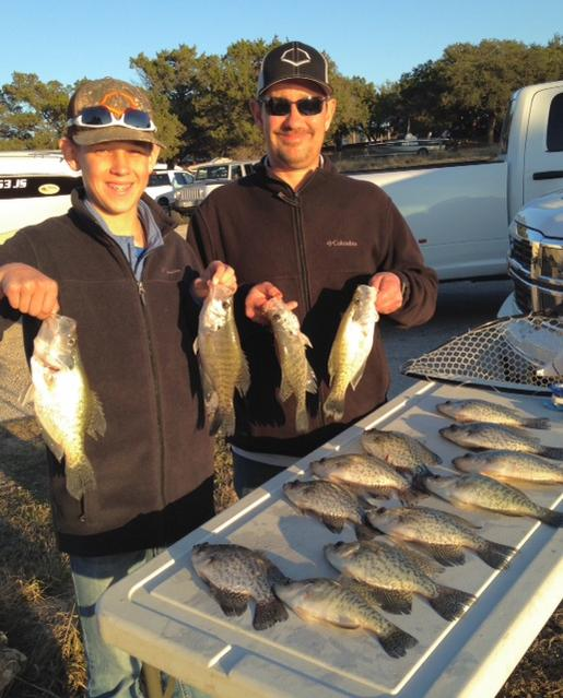 Canyon lake tx fishing report for Crappie fishing in texas